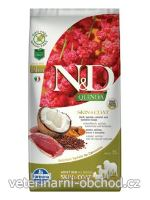Psi - krmivo - N&D Quinoa DOG Skin & Coat Duck & Coconut