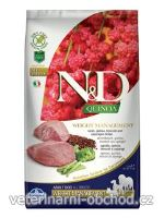 Psi - krmivo - N&D Quinoa DOG Weight Management Lamb & Broccoli